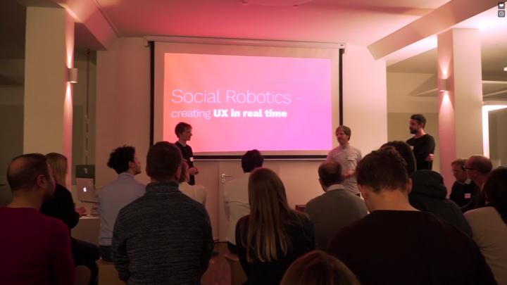navel robotics on Munich Creative Business Week