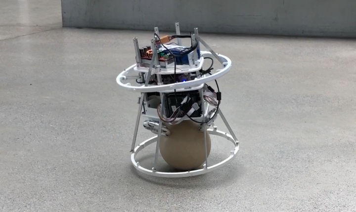 our ballbot gets dynamic