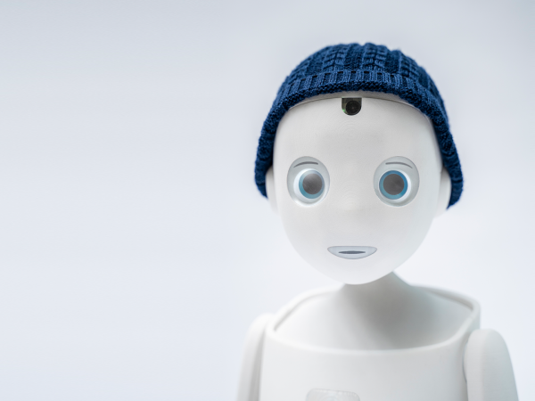 social robot navel